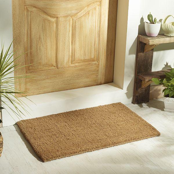 natural coir door mat