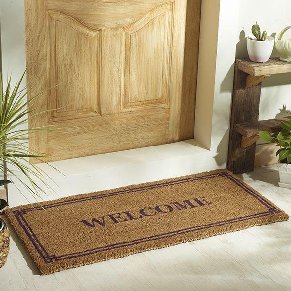 buy welcome door mat online